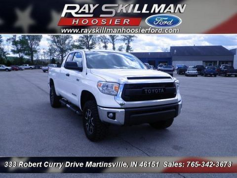 Used Toyota Tundra 4WD Double Cab 5.7L FFV V8 6-Spd AT SR